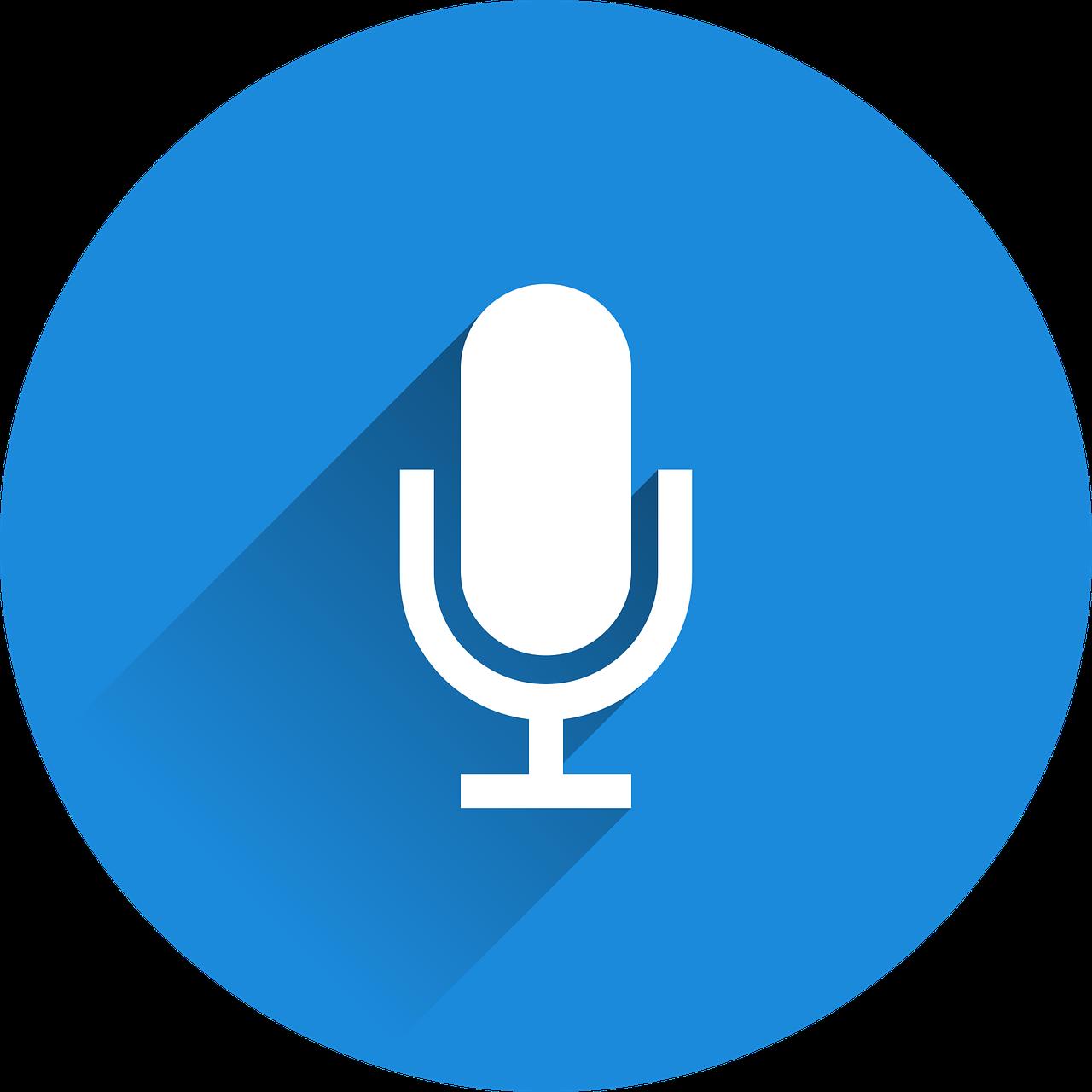 icône Dictée vocale