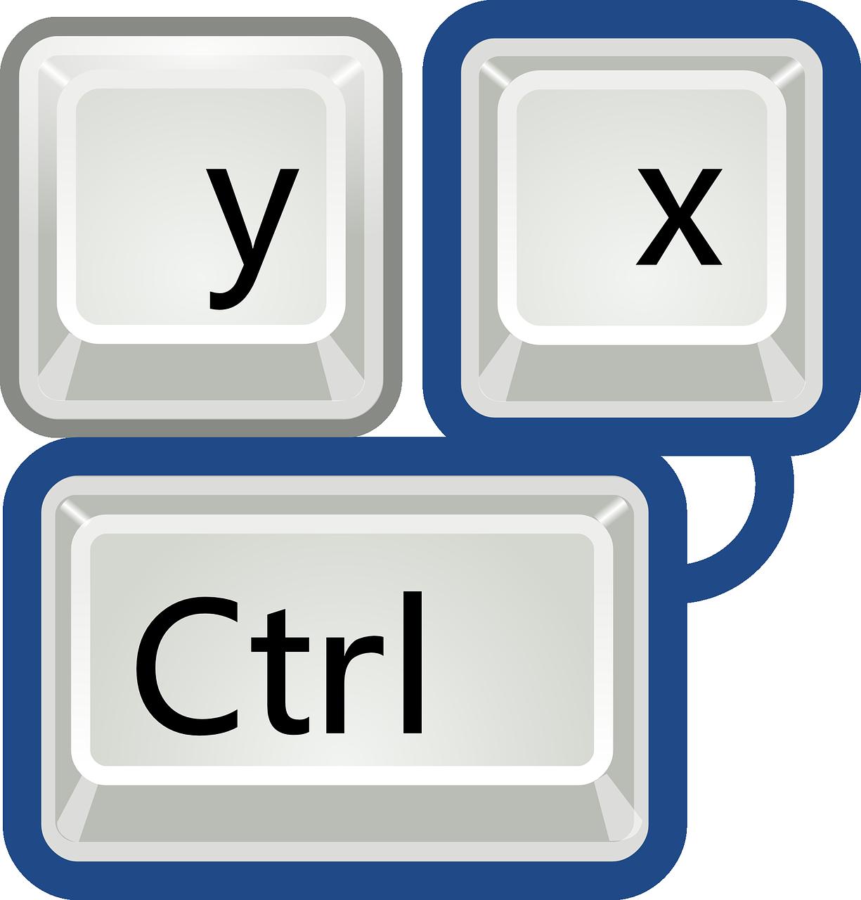 icône Raccourcis clavier